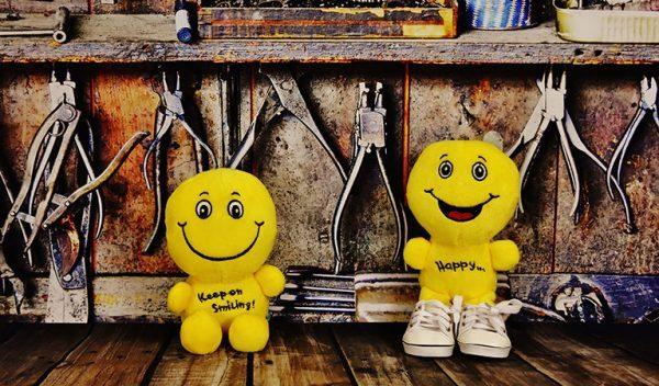 Smiling Plushies